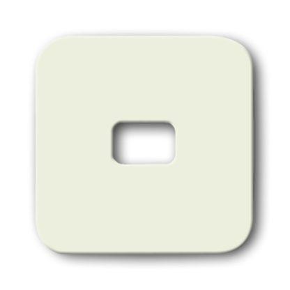 Busch-Jaeger  Wippe offen für Symbol cremeweiß  2509-21