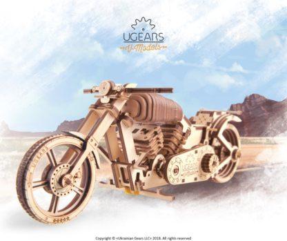UGears VM 02 - Motorrad - Chopper Bike