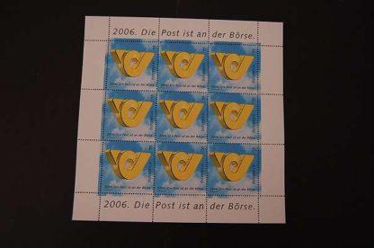 Österreich 2006 Post a. d. Börse Kleinbogen postfrisch ANK 2627