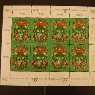 Österreich 1995 Tag der Briefmarke Kleinbogen postfrisch ANK 2190