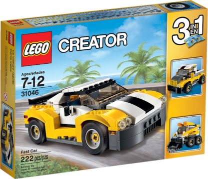 LEGO Creator 31046 Schneller Sportflitzer