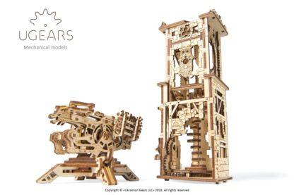 UGEARS Mittelalter: Turm mit Balliste