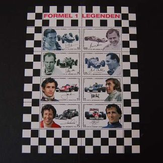 Österreich 2006 Formel 1 Legenden Block postfrisch ANK 2619 - 2626