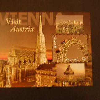 Österreich 2012 Europa 2012 Visit Austria Block postfrisch ANK. 3024