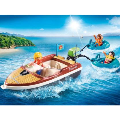 PLAYMOBIL 70091 Sportboot mit Fun-Reifen