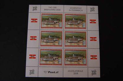 Österreich 2008 Tag der Briefmarke Kleinbogen postfrisch ANK 2799