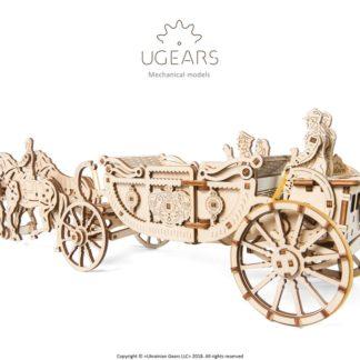 UGears Königliche Hochzeitskutsche
