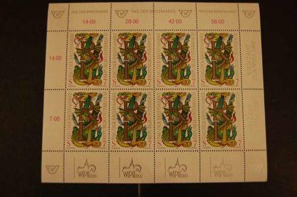 Österreich 1998 Tag der Briefmarke Kleinbogen postfrisch  ANK 2292