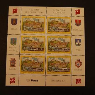 Österreich 2011 Tag der Briefmarke Kleinbogen ANK 2965 postfrisch