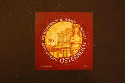Österreich 2012 Musikfreunde Wien Block postfrisch ANK. 3000