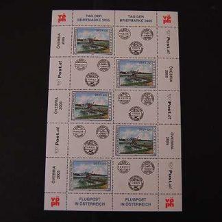 Österreich 2005 Tag der Briefmarke Kleinbogen postfrisch ANK 2566