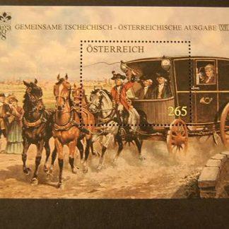 Österreich 2008 Postkutsche Block postfrisch ANK. 2791