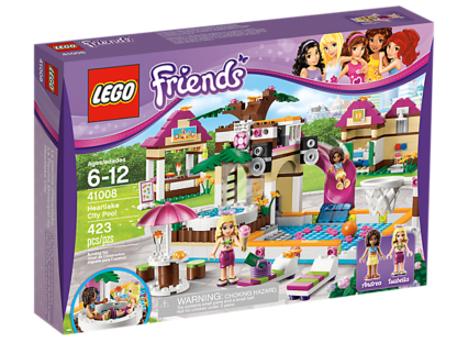 LEGO Friends 41008 - Großes Schwimmbad