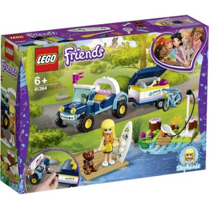 LEGO® 41364 FRIENDS Stephanies Cabrio mit Anhänger