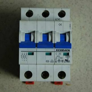 Schrack Sicherungsautomat C20 3pol