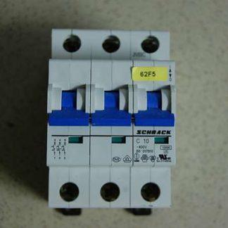 Schrack Sicherungsautomat C10 3pol