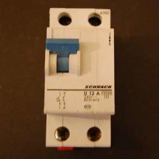 Schrack Sicherungsautomat U 12A 1 + N