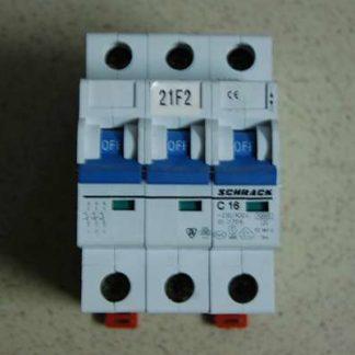 Schrack Sicherungsautomat C16 3pol