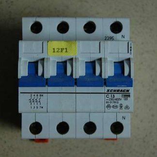 Schrack Sicherungsautomat C13 3/N