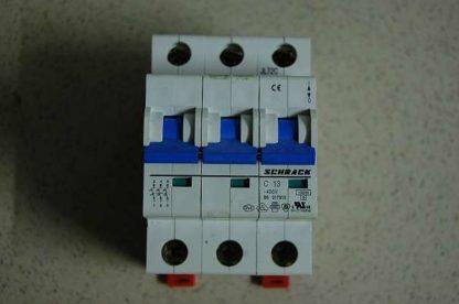 Schrack Sicherungsautomat C13 3pol
