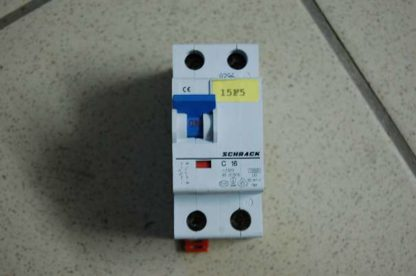 Schrack Sicherungsautomat C16/1+N