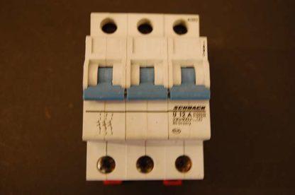 Schrack Sicherungsautomat U 12A 3pol