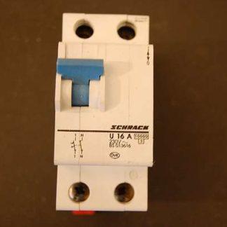Schrack Sicherungsautomat U 16A