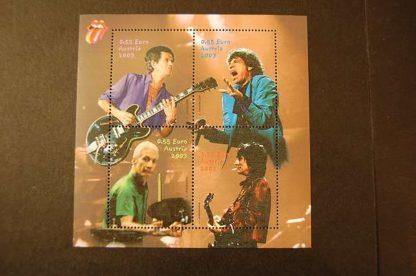 Österreich 2003 Rolling Stones Block postfrisch ANK. 2464 - 2467