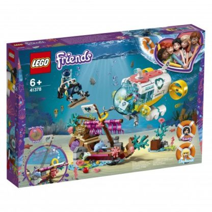 LEGO Friends 41378 Rettungs U-Boot für Delfine