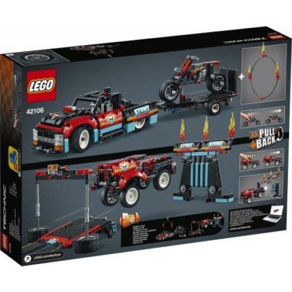 LEGO Technic 42106 Stunt-Show mit Truck u Motorrad
