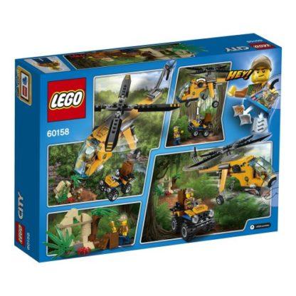 LEGO City 60158 Dschungel Frachthubschrauber