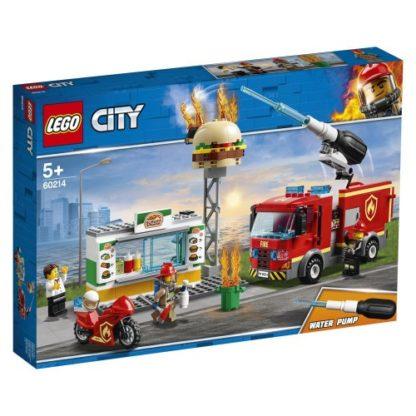 LEGO City 60214 Feuerwehreinsatz im Restaurant