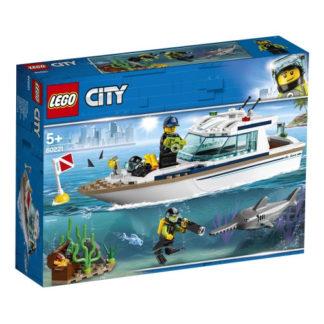 LEGO City 60221 Tauchyacht