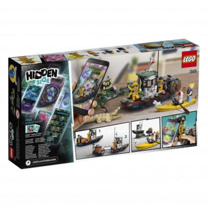 LEGO Hidden Side 70419 Gekenterter Garnelenkutter