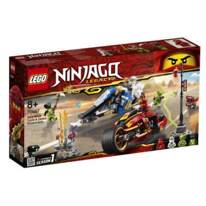 LEGO NINJAGO 70667 Feuer-Bike und Schneemobil