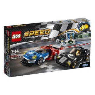 LEGO Speed Champions 75881 Ford GT 2016 u. Ford GT