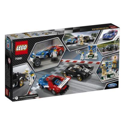 LEGO Speed Champions 75881 Ford GT 2016 u. Ford GT