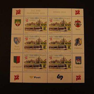 Österreich 2012 Tag der Briefmarke Kleinbogen ANK 3025 postfrisch