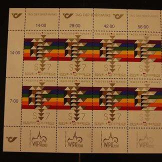 Österreich 2000 Tag der Briefmarke Kleinbogen postfrisch ANK 2350