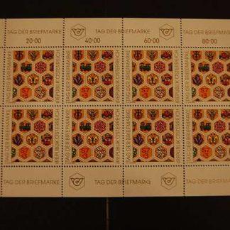 Österreich 1990 Tag der Briefmarke Kleinbogen postfrisch ANK 2022