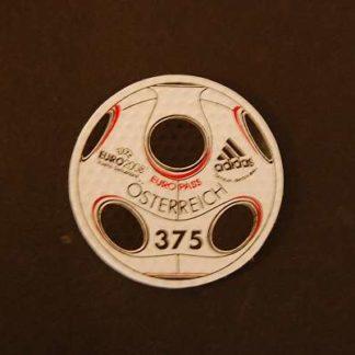 Österreich 2008 UEFA Euro 2008 Adidas ANK2750 postfrisch  Anzeigenstatistik