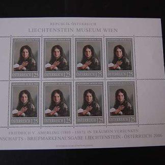 Österreich 2006 Lichtenstein Museum Kleinbogen postfrisch ANK. 2608
