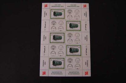 Österreich 2002 Tag der Briefmarke Kleinbogen postfrisch ANK. 2414