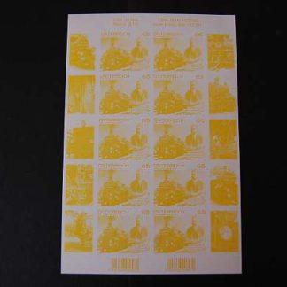 Österreich 2011 150 Geb. von Karl Gösldorfer Buntdruck Kleinbogen ANK. 2945
