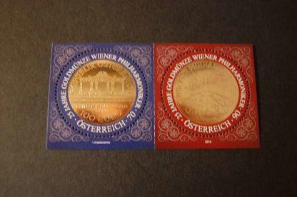 Österreich 2014 Wiener Philharmoniker Block postfrisch ANK 3199 - 3200