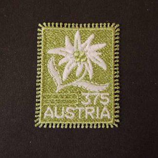 Österreich 2005 Stickereibriefmarke Edelweiß postfrisch ANK. 2572