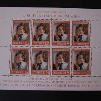 Österreich 2008 Lichtenstein Museum Kleinbogen postfrisch ANK. 2748