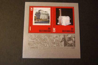 Österreich 2009 Block Christo postfrisch ANK. 2829 - 2830