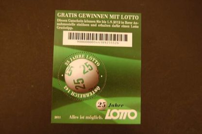 Österreich 2011 Lotto Block ANK 2981 postfrisch