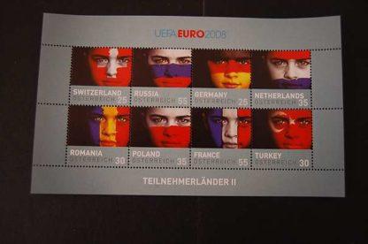 Österreich 2008 UEFA Euro 2008 Block postfrischANK 2770 - 2777